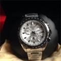 JUAL New Seiko Astron Solar GPS Dual-Time Titanium Men's Watch SSE048 ORIGINAL Termurah