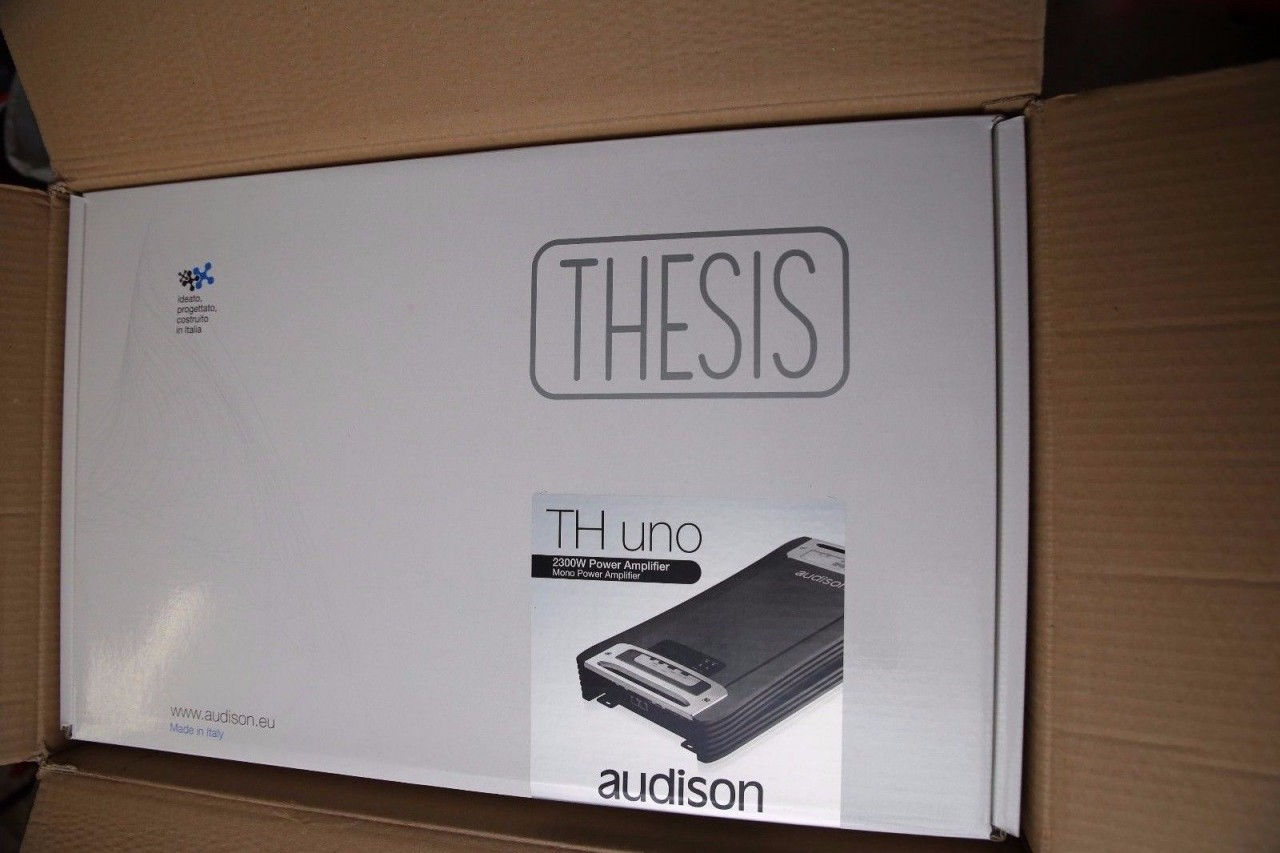 audison thesis th uno See more like this audison voce av uno audiophile amplifier w crossover mono 1700w rms power 7 watching  audison thesis uno th amp amplifier au $1,78724.