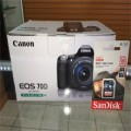 JUAL  NEW Canon EOS 70D 20.2 MP Digital SLR Camera with EF-S IS 18-135mm STM Lens ORIGINAL Termurah