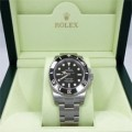 JUAL Rolex Submariner 114060 Stainless Steel Black Ceramic Bezel Men's B&P ORIGINAL Termurah