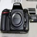 New Nikon D610 Full Frame DSLR Body