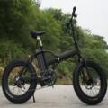 "JUAL E-Bike 350W 20"" Electric Bicycle MTB FOLDING Fat Tire High quality Black  ORIGINAL Termurah"